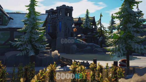 Snowy Castle (cache cache)