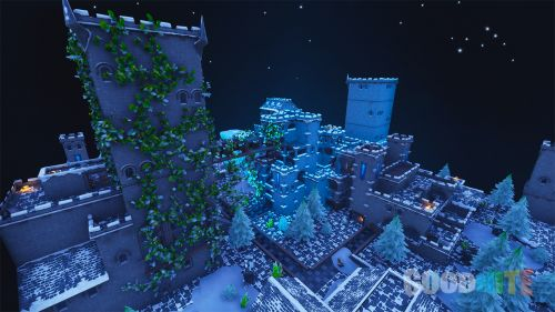 Ice Queen-s Frozen Castle