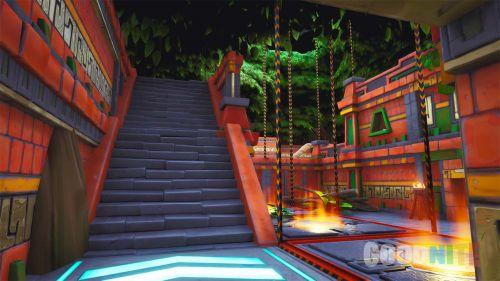 The volcano temple