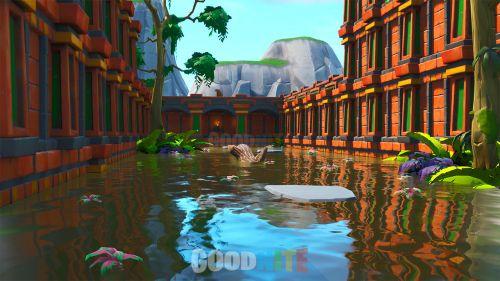Koi Pond Parkour