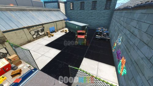 Prop Hunt Swimming Pool