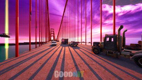 GOLDEN GATE BRIDGE RUSH