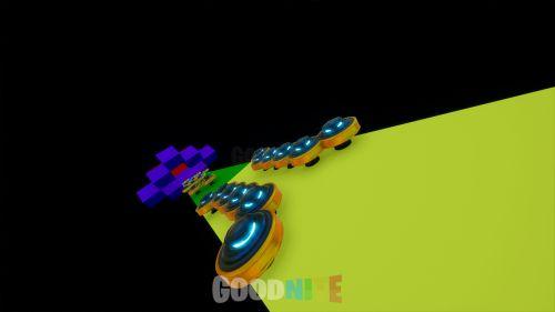 Noob Rainbow Toboggan et Dropper Deathrun