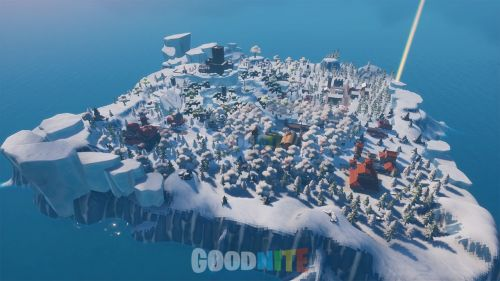 MINI FORTNITE BATTLE ROYALE DES NEIGES