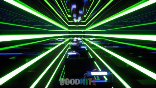 Course Deathrun néon