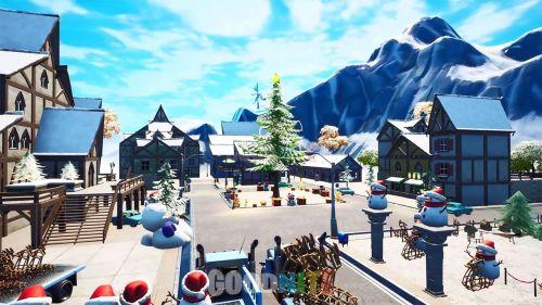 Le village de noël spéciale BR