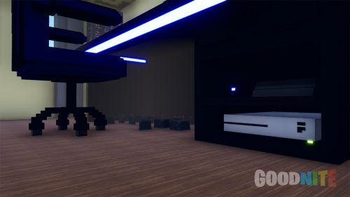 La chambre d'un Gamer