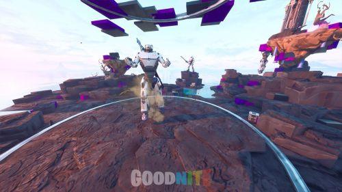 Robot planet - Cache cache