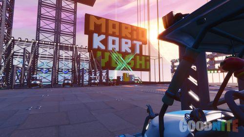 Mario Kart Yoshi