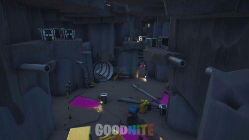 Cache cache Bunker de recherche