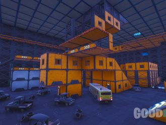 Mêlée générale hangar