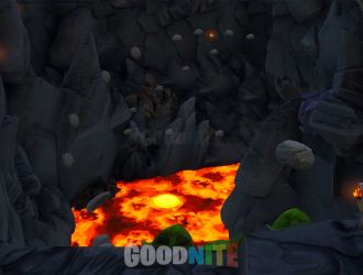 Volcano Adventure Deathrun