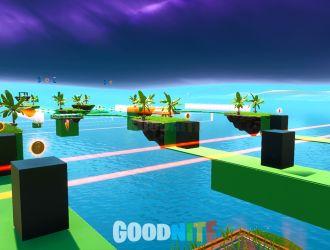 DEATHRUN RACE - île flottantes