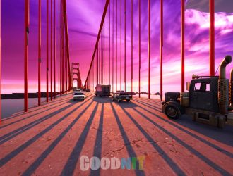 GOLDEN GATE BRIDGE RUSH