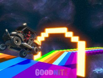 Mario Kart : Course Arc en Ciel