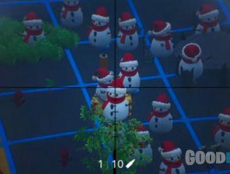 Ou-est le Bonhomme de neige ?