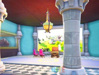 Princess Peach castle: Choose your mode