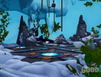 Escape from the Ice Cave