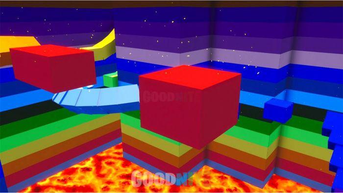 Deathrun Lava-rainbow