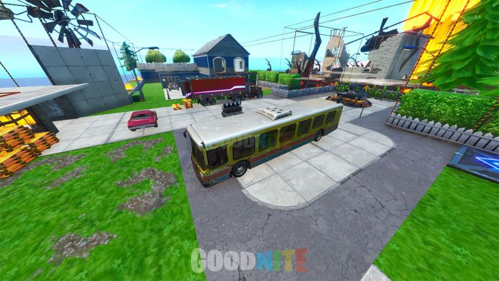 NUKETOWN ON FORTNITE