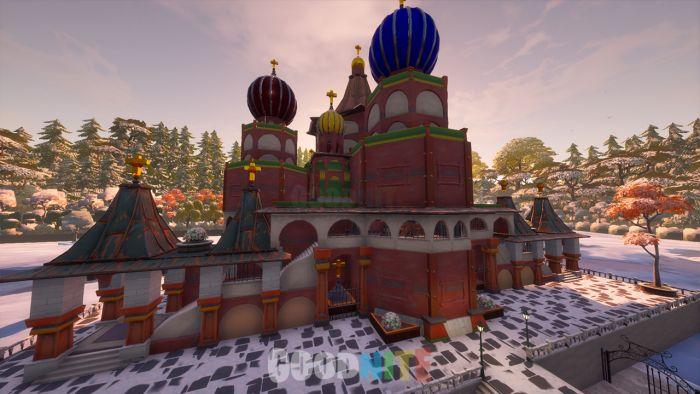 Cathédrâle de Moscou