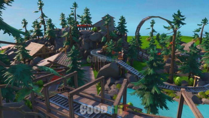 Cache cache parc d'attractions
