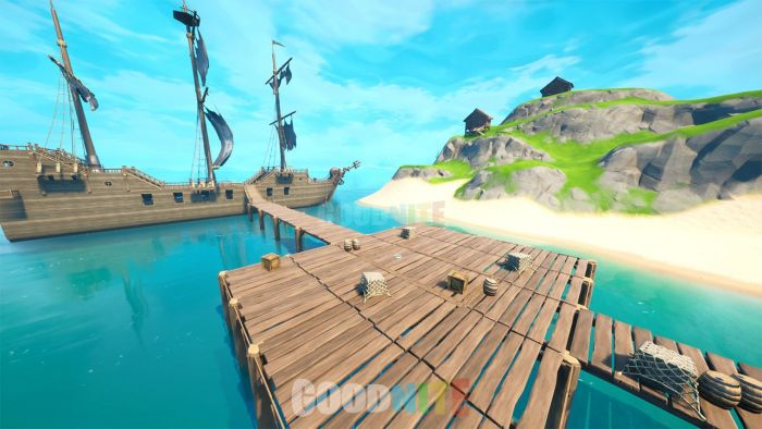 Zone war & Box fight - L'île aux pirates