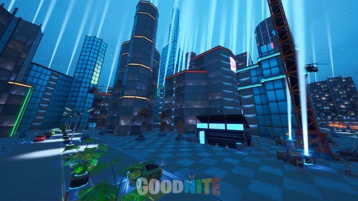 Futuristic City Chaos - GunGame